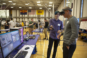Capstone Projects Team Undergraduates with Company Sponsors