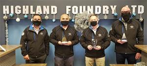 Highland Foundry Honored at Annual Pinnacle Awards