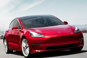 Tesla Model 3 Shines Supreme in California