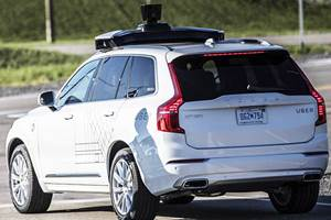 Uber Weighs Options for Autonomous Vehicle Unit