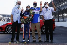 Sato Wins Spectator-less Indy 500