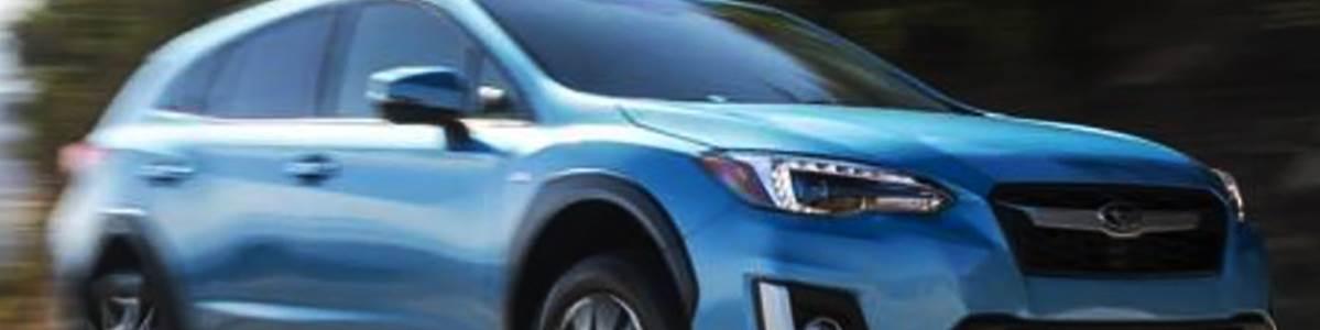 2020 Subaru Crosstrek Hybrid vehicle.