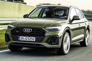 Updated Audi Q5 Gets New Face, Adds Tech