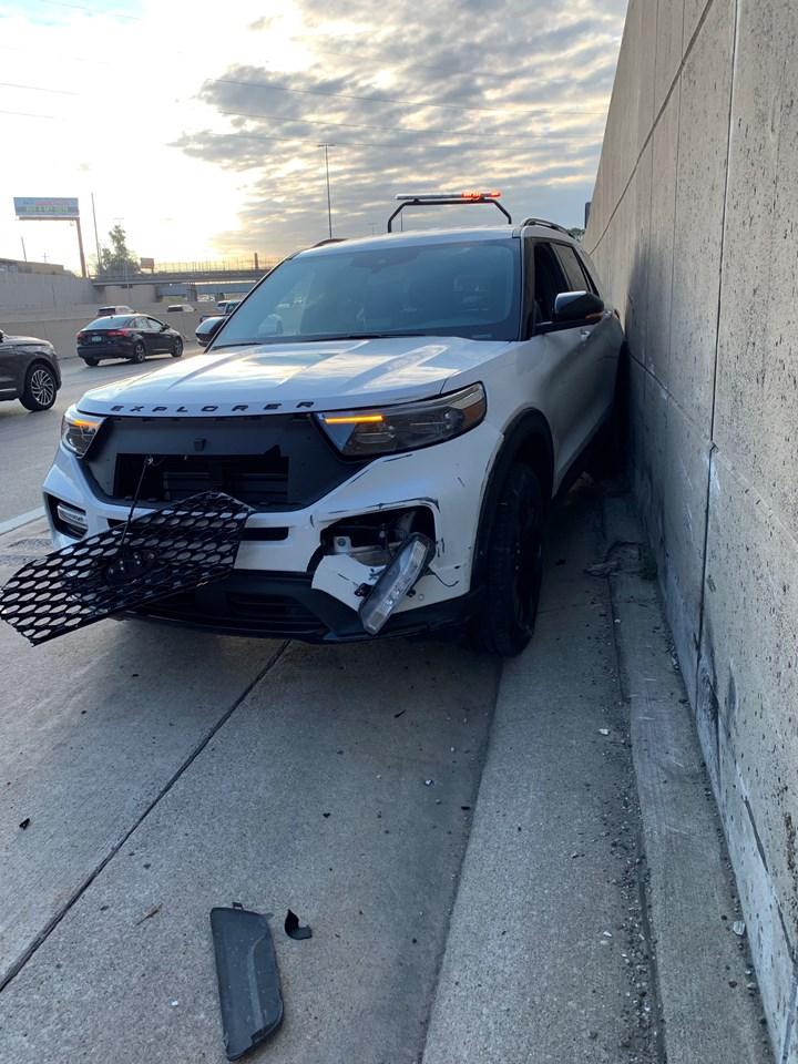 Crashed Explorer