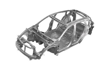 Acura RDX structure
