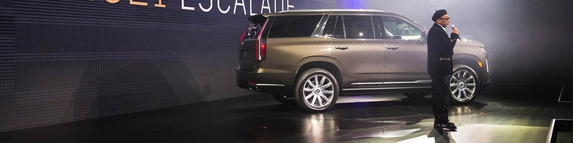 Spike Lee and the 2021 Cadillac Escalade