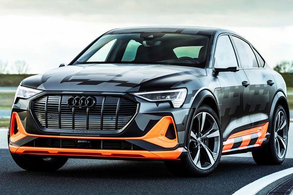 Audi Revs Up E-Tron with Third Motor image