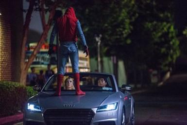 Audi in a movie