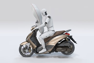 Autoliv scooter airbag