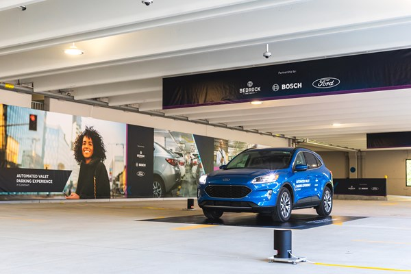 Ford, Bosch and Bedrock Collaborate on Automated Parking