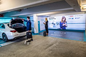Mercedes, Bosch Deploy Valet Parking Tech