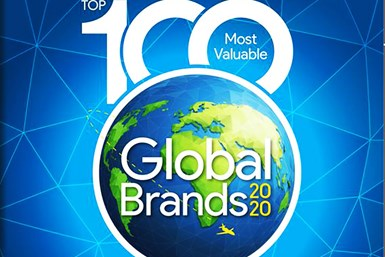 100 most valuable brands