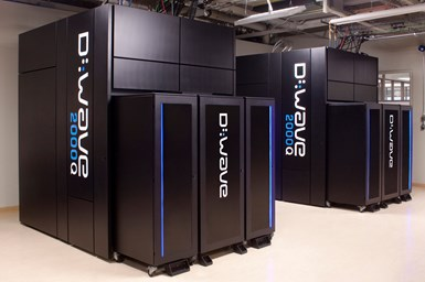 D-Wave quantum computers