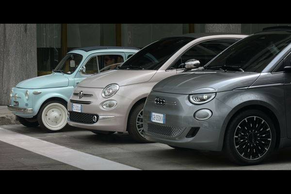 New Fiat 500 Takes a Red Dot Award image
