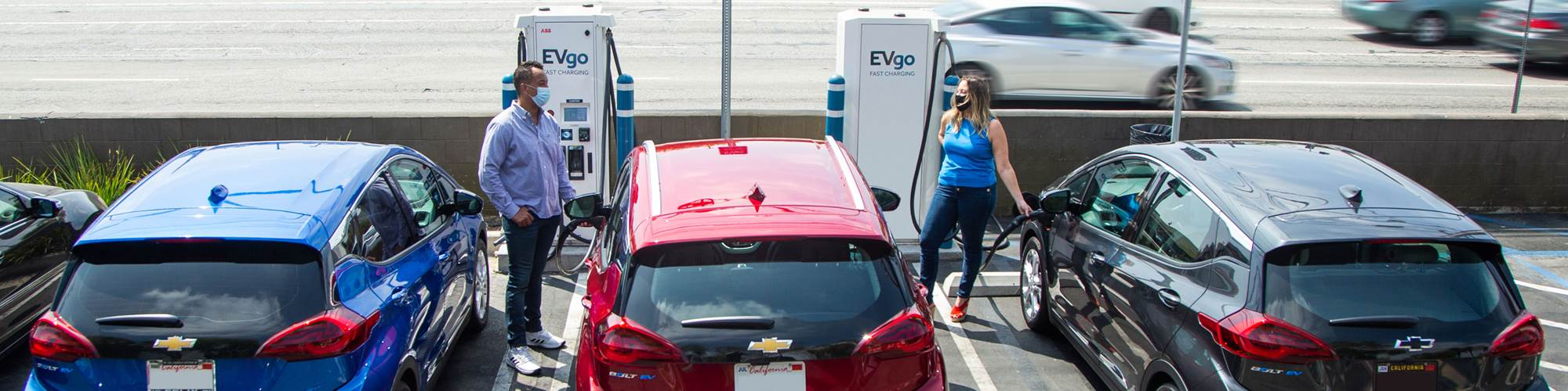 GM EVgo charging