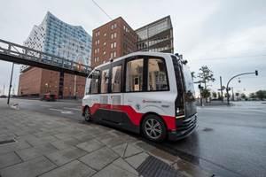 Autonomous Shuttle Service Launches in Hamburg
