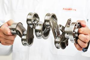 Honda, Autodesk Develop Lightweight Crankshaft