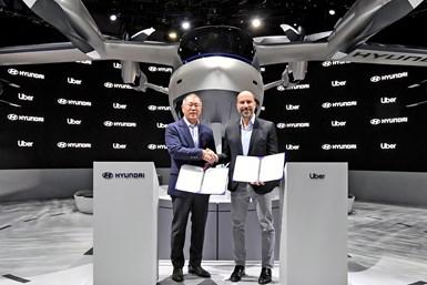 Hyundai-Uber flight agreement