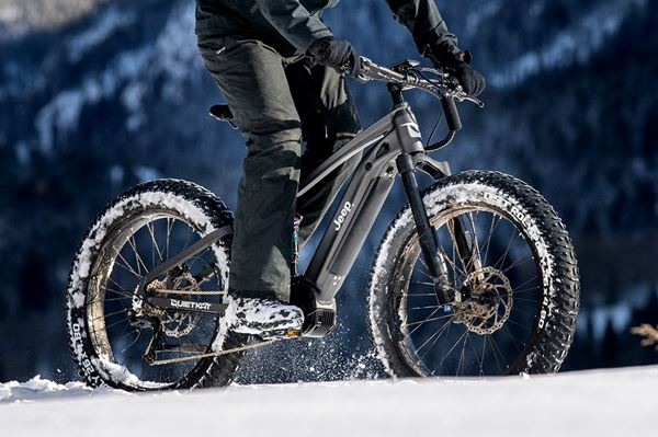 Jeep's Off-Road Electric Mountain Bike image