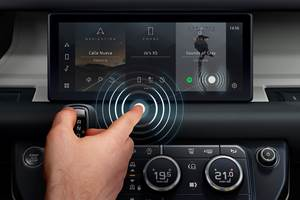 JLR Develops Touchless Touchscreen