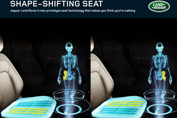JLR Aims to Reshape Seat Fitness image