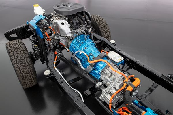 ZF: From Now on, Hybrid-Ready Transmission Development image