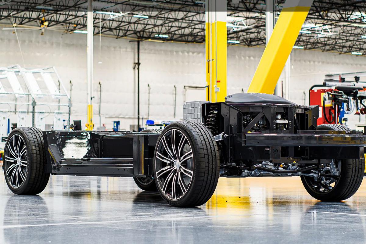 Karma E-Flex electric vehicle platform