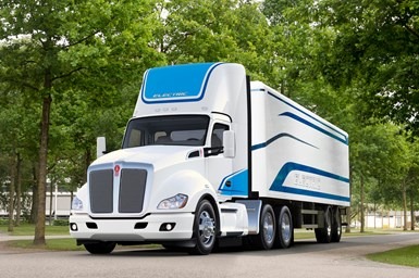Kenworth T680E electric truck