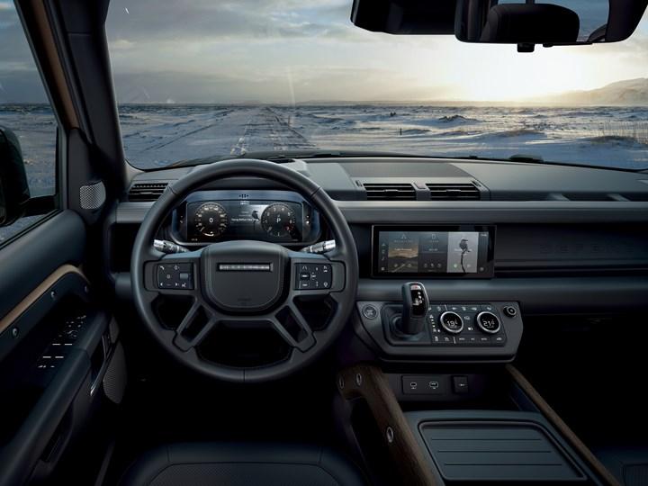 2020 Land Rover Defender interior