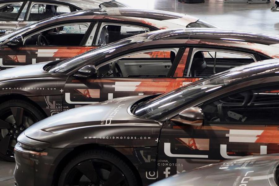 Lucid Motors Air electric sedan
