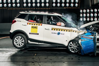 XUV300 crash test