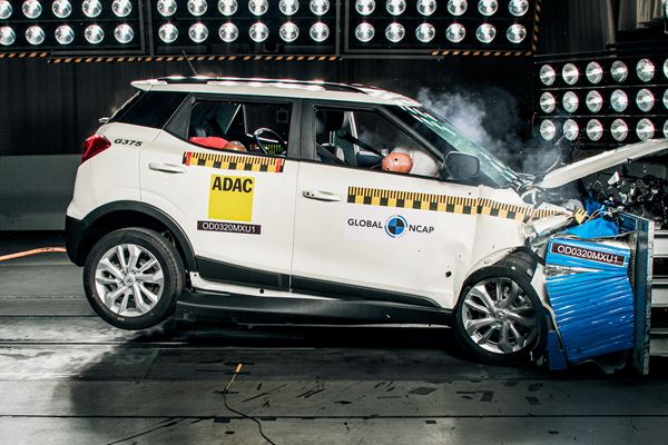 "Mahindra Crossover Wins First-Ever Global NCAP ""Safer Choice"" Award image"