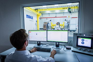 Mahle test bench