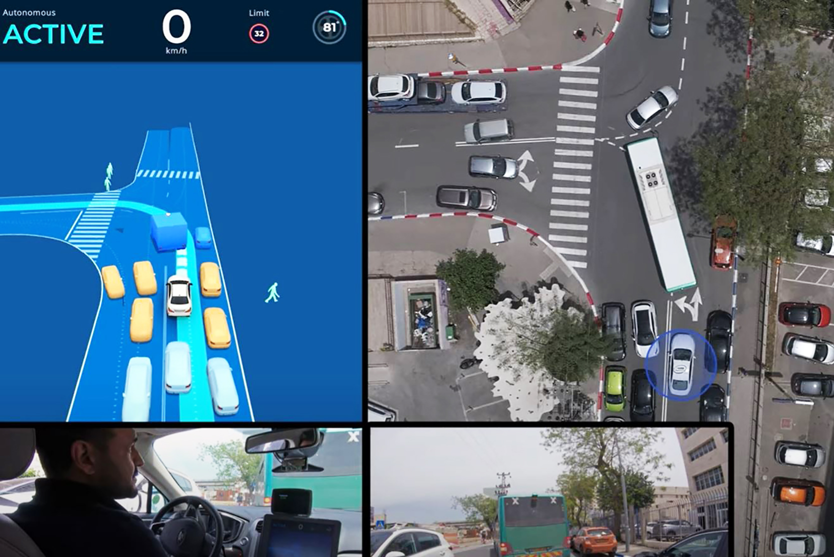 Intel's Mobileye unit is testing autonomous vehicles in Israel