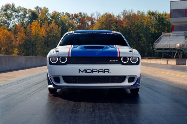 2021 Dodge Challenger Mopar Drag Pak By the Numbers image