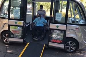 A Good Use for Autonomous Shuttles: Helping the Elderly