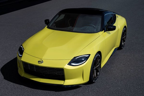 Next-Gen Nissan Z Steps Out