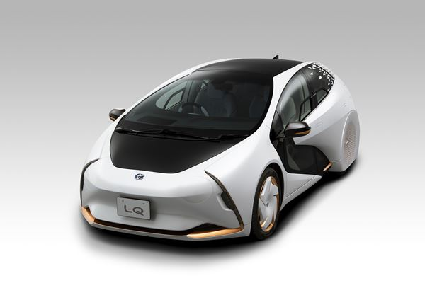 Natural Fiber-Reinforced Composite Developed for Toyota EV Concept image