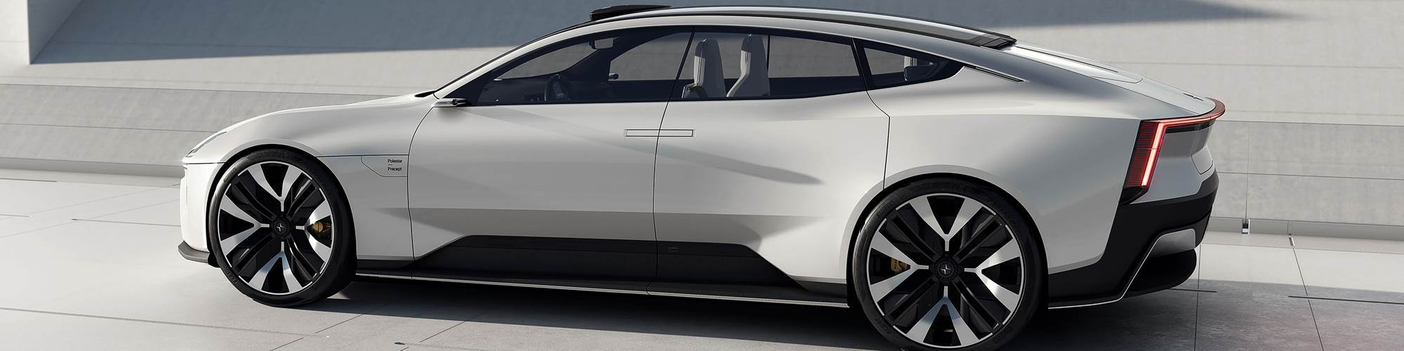 Volvo's Polestar electric car unit previews its future design direction with the Precept concept car