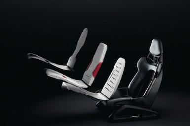 Porsche 3D printed seats