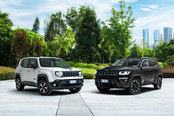 Jeep Launches Plug-in Hybrids—in Europe image