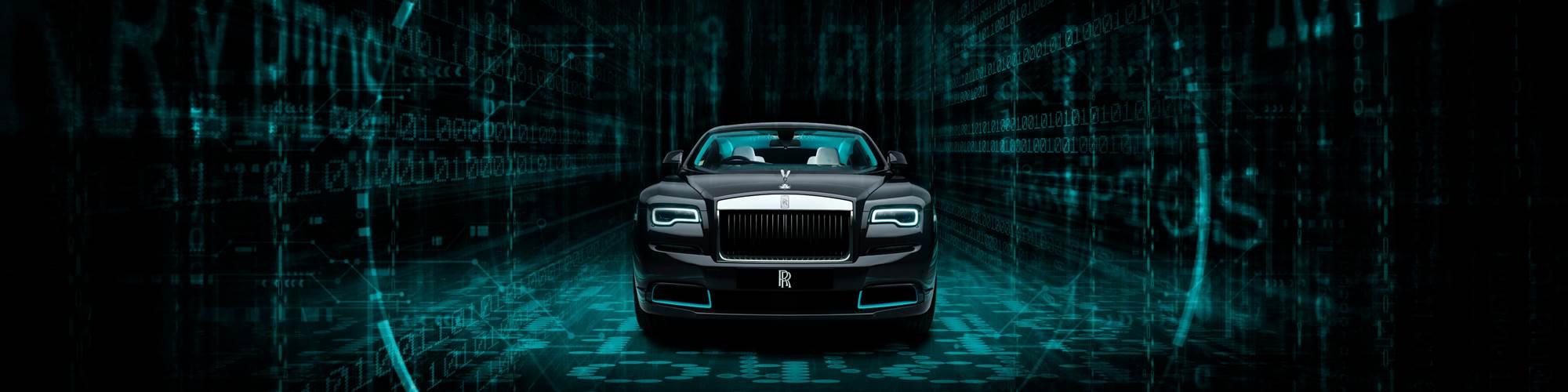 Rolls-Royce code car