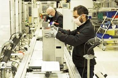SEAT workers produce ventilators