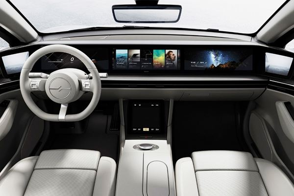 Sony Creates Concept EV image