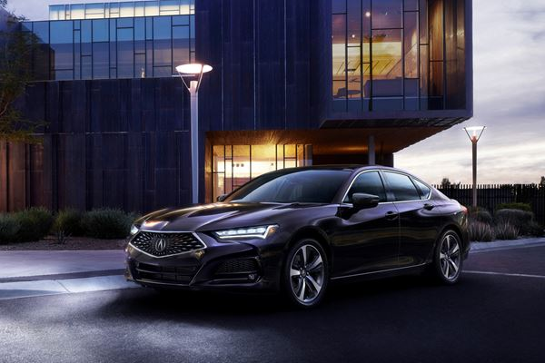 Talking Acura TLX image