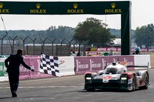 Toyota 3-Peats at Le Mans