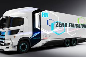 New Toyota JV Targets Fuel Cell Trucks in China
