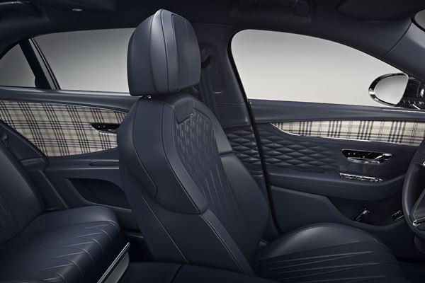 Bentley Adds Tweed Trim image