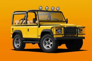 Convert a 1990s Land Rover to Electric Power—for $185,000+