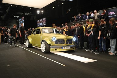 Modified Volvo at auction